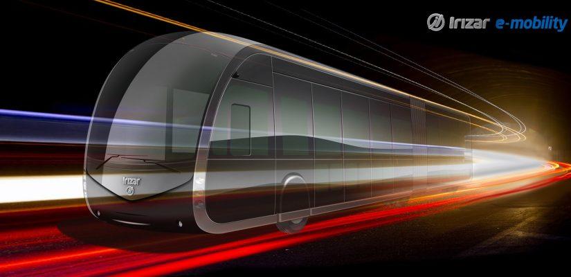 Prototype Tram'bus 100% électrique ©Irizar
