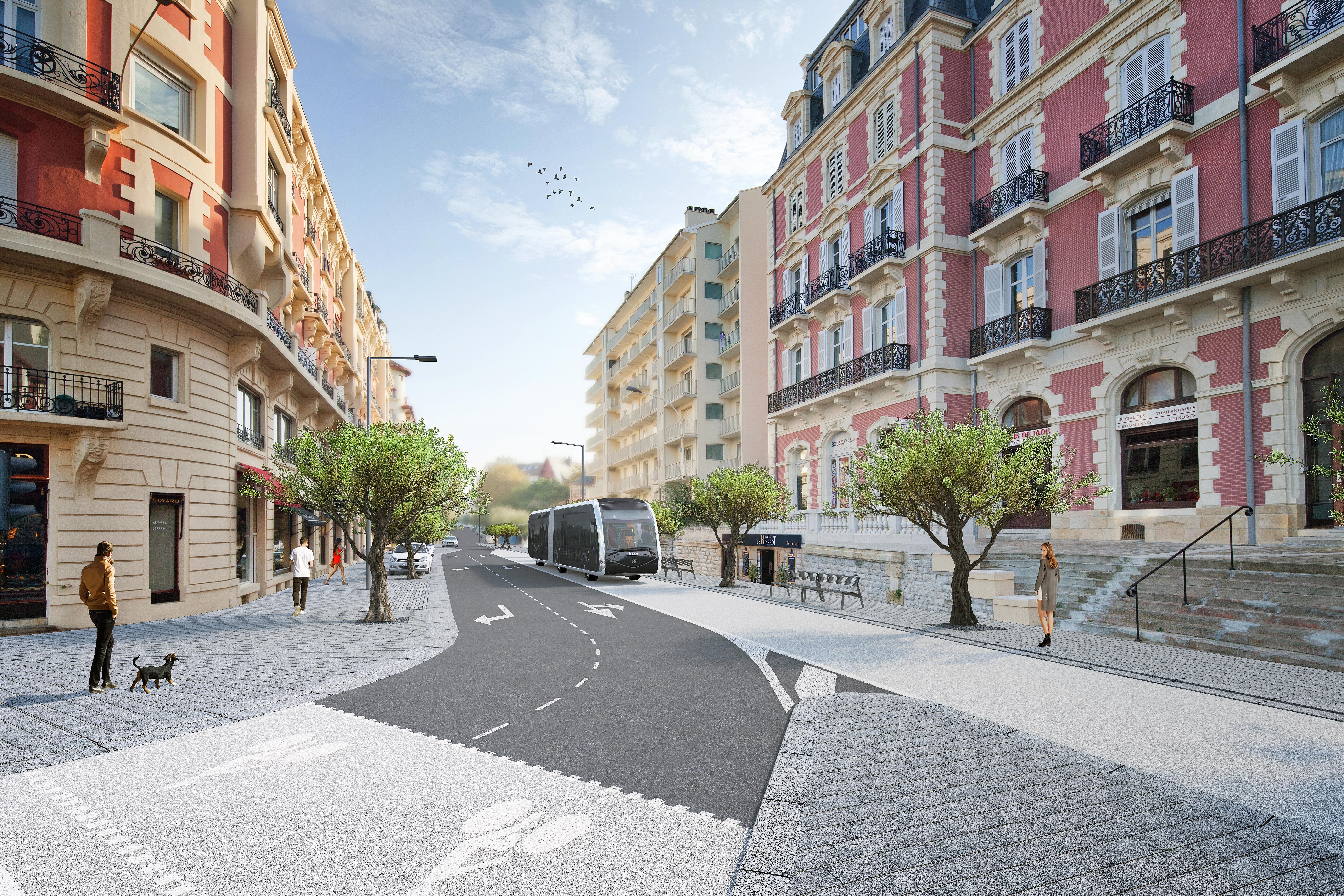 Biarritz - Avenue Reine Victoria ©Patrick Arotcharen