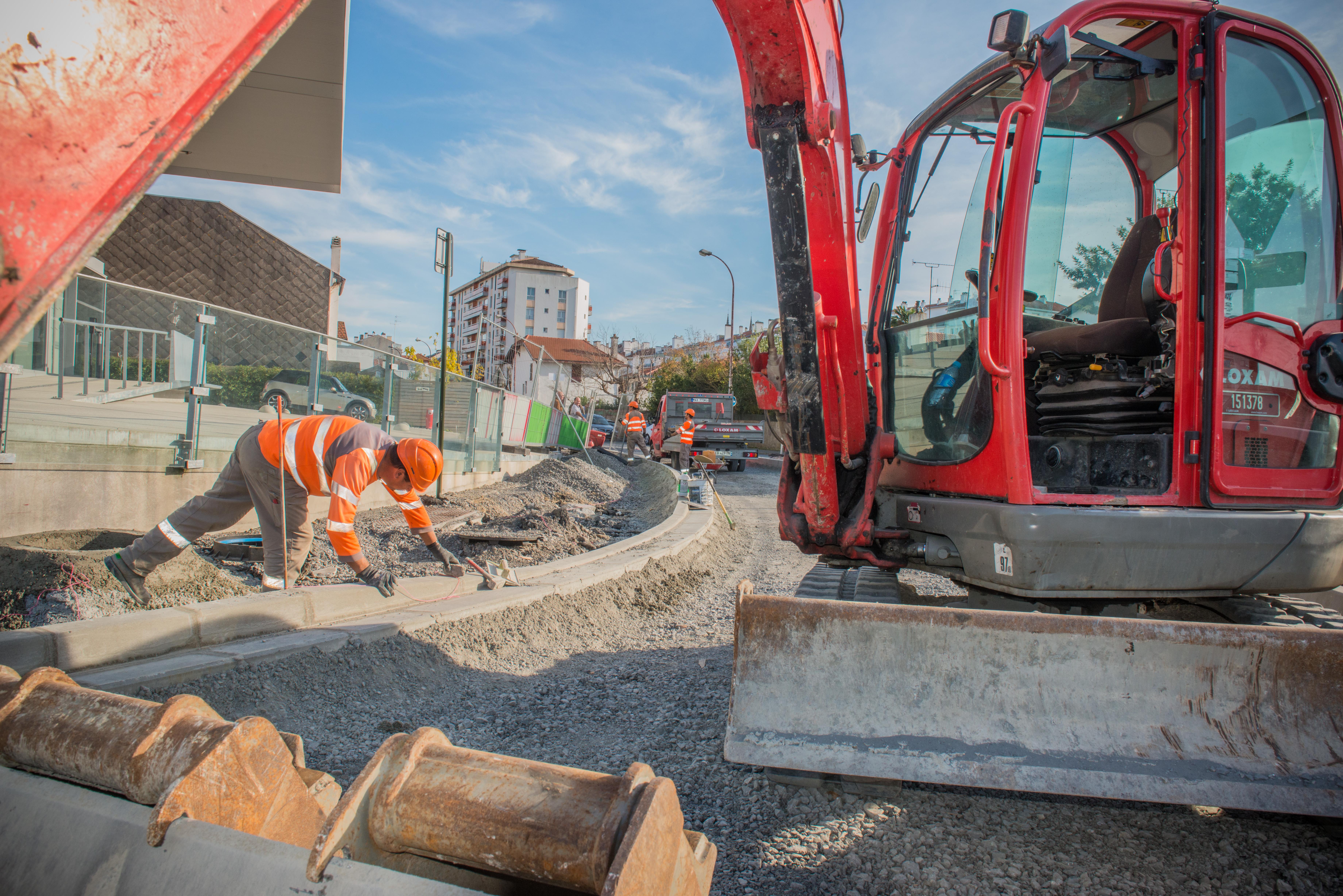 Les travaux à Bayonne / ©L.Tomassi