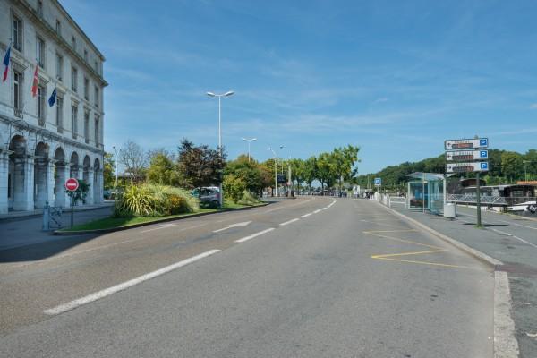 Avenue Maréchal Leclerc - Bayonne ©L.Tomassi