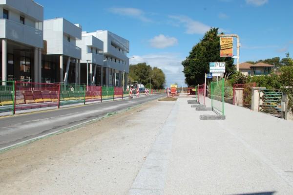 A Tarnos, les travaux changent de voie à partir de mi-avril